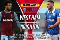 Prediksi West Ham vs Brighton